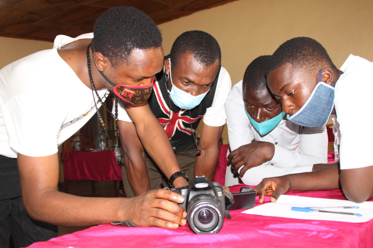 Co learning at Draufsicht Bamenda